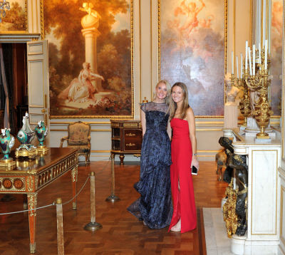 catharine schoettle in The Frick Collection Young Fellows Ball 2017