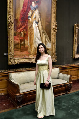 alexandra bregman in The Frick Collection Young Fellows Ball 2017