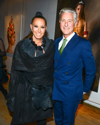 donna karan in Brooke Shields Continues To Be Hottest Woman Ever At Last Night's Tribeca Ball