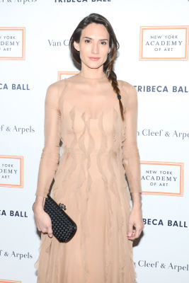 zani guggelmann in Brooke Shields Continues To Be Hottest Woman Ever At Last Night's Tribeca Ball