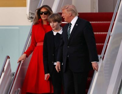 Barron Trump's 11th Birthday Bash Was Pretty Chill