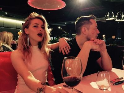 Amber Heard & Elon Musk Are Instagram Official