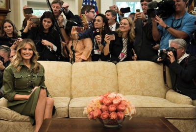 What Melania Trump's Instagram Secretly Reveals