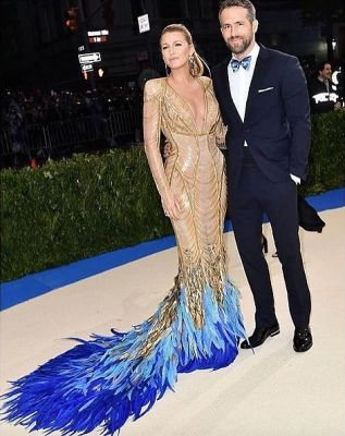blake lively in The Met Gala's Most Gorgeous Couples