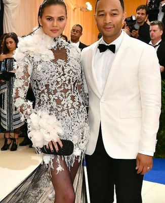 chrissy teigen in The Met Gala's Most Gorgeous Couples