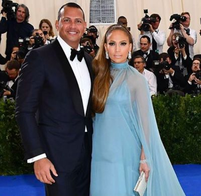 alex rodriguez in The Met Gala's Most Gorgeous Couples