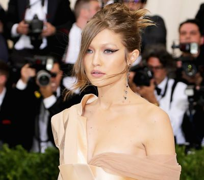 Met Ball Beauty: Gigi Hadid Left Her Eyebrows At Home