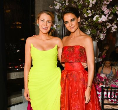 Blake Lively & Katie Holmes Get Glam At The American Ballet Theatre's Spring Gala