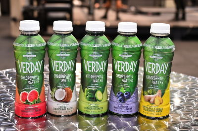 verday chlorophyll-water in Verday x DogPound Spring Kickoff Party