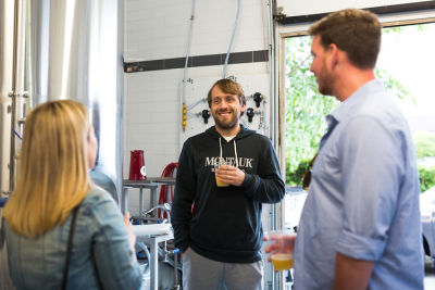 eric moss in The Guys Behind Montauk Brew Co.​ Take Us Behind The Beer