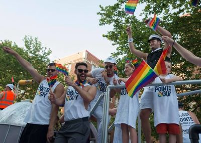 joey zauzig in Scenes From D.C. Pride Weekend 2017