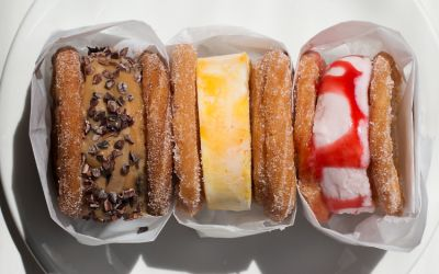 Churro Ice Cream Sandwiches Are About To Blow Up Your Insta Feed