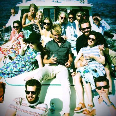 Taylor Swift, Jessica Szohr, Andrew Garfield, Jaime King