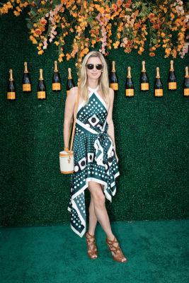 nicky hilton in Best Dressed Guests: Veuve Clicquot Polo Classic 2017