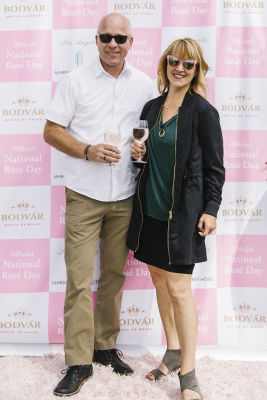 sharon palmer in National Rosé Day with BODVÁR