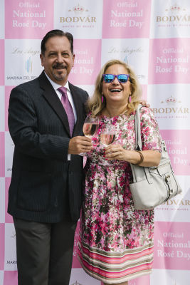 humberto capiro in National Rosé Day with BODVÁR
