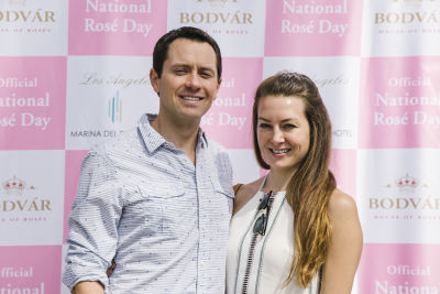 jason leon in National Rosé Day with BODVÁR