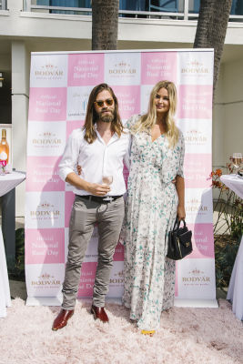 tom payne in National Rosé Day with BODVÁR