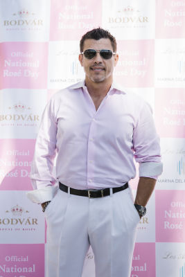 al coronel in National Rosé Day with BODVÁR