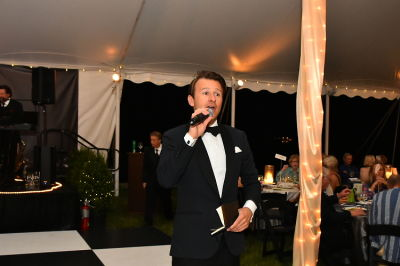 "lucas hunt in East End Hospice Annual Summer Party, ""An Evening in Paris"""