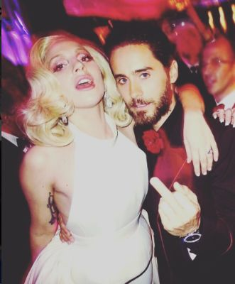 Lady Gaga, Jared Leto