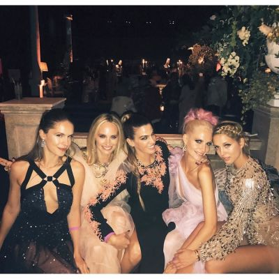 Eugenie Ora Niarchos, Lauren Santo Domingo, Bianca Brandolini, Poppy Delevingne, Princess Olympia