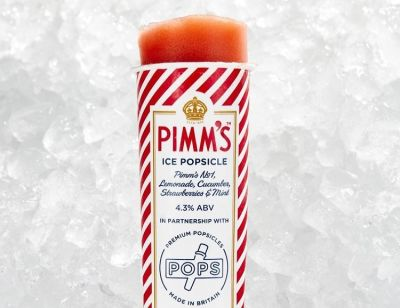Pimm's Popsicles Are Summer's Poshest Boozy Treat
