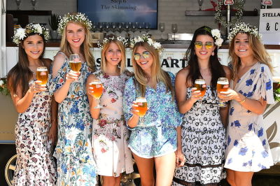 katie sands in Crowns by Christy Shopping Party with Stella Artois, Neely + Chloe and Kendra Scott