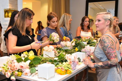 eliza rose-beers in B Floral Summer Press Event at Saks Fifth Avenue's The Wellery