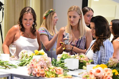 bronwen smith in B Floral Summer Press Event at Saks Fifth Avenue's The Wellery