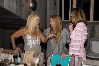 elizabeth cutler in Cynthia Rowley and Lingua Franca Celebrate Three Generations of Surfer Girls