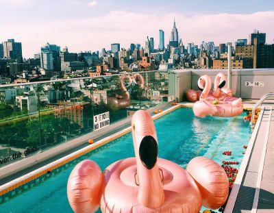 Beat The Heat At NYC's Chicest Pools