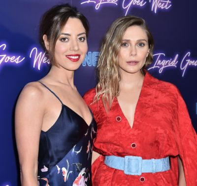Elizabeth Olsen & Aubrey Plaza Celebrate The NYC Premiere Of