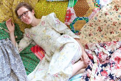 The Fashionable Floral Madness Of Batsheva Hay