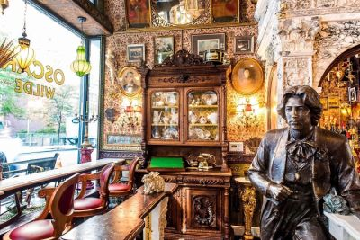 NYC's New Oscar Wilde Bar Is As Glamorous As You Would Expect