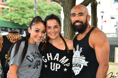 sarah romulo in The 2017 Rumble on The River - Amazing Taste of Muay Thai