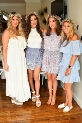 danielle gervino in Crowns by Christy x Nine West Hamptons Luncheon