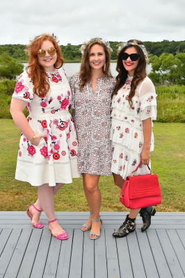 allie provost in Crowns by Christy x Nine West Hamptons Luncheon