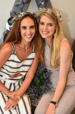 diana thomas in Crowns by Christy x Nine West Hamptons Luncheon
