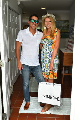 rachel donohue in Crowns by Christy x Nine West Hamptons Luncheon