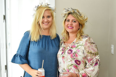 jessica mackin in Crowns by Christy x Nine West Hamptons Luncheon