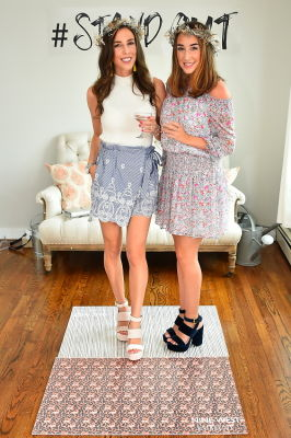 erica ramos in Crowns by Christy x Nine West Hamptons Luncheon