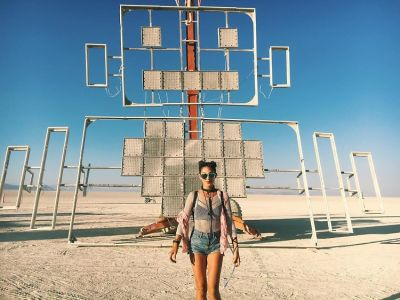 Burning Man 2017: Celebrities & Supermodels Get Down In The Desert
