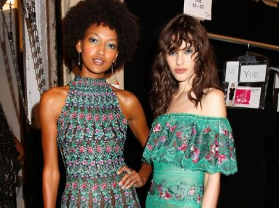 Backstage Pass: Young Hollywood Favorite, Tadashi Shoji, Goes Bohemian