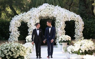 Inside The Extremely Extra 'Million Dollar Listing' Wedding Of Josh Flagg