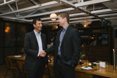 stefan cross in Maven Intimate Dinner Hosted by Peter B. Kosak, GM's Executive Director of Urban Mobility
