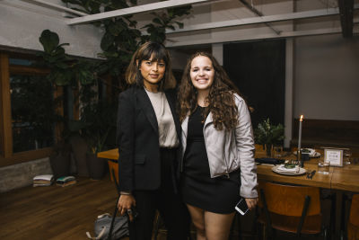 jackie gonzalez in Inside Maven's Intimate Dinner For Tech Insiders & Innovators