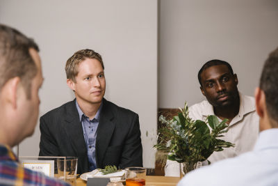 chidi erike in Maven Intimate Dinner Hosted by Peter B. Kosak, GM's Executive Director of Urban Mobility