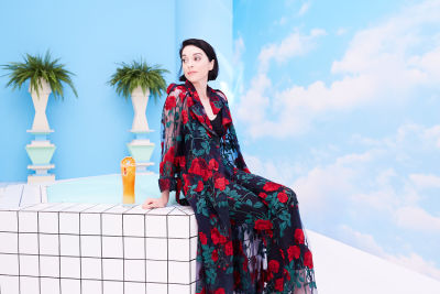 St. Vincent Curated An Artsy Pop Up With Peroni