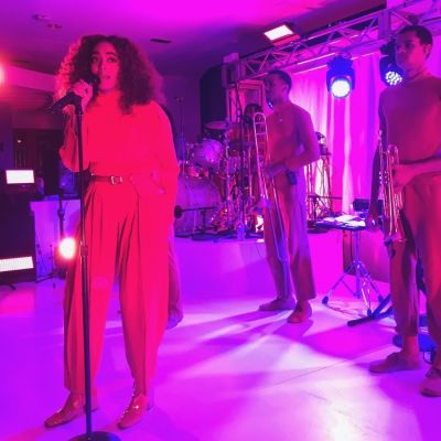 Solange Performs At The #MadeByGoogle Launch In NYC